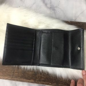Prada Bags - Prada saffiano black leather wallet